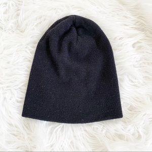 GUCCI Wool Silk and Cashmere Blend Beanie M